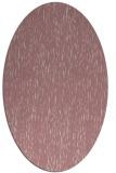 rug #241917 | oval pink natural rug