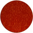 rug #242525   round red natural rug