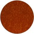 rug #242537 | round red-orange natural rug