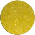 rug #242581 | round yellow rug