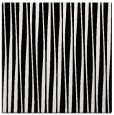 rug #242989   square white stripes rug