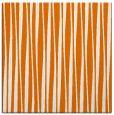 rug #243177   square orange stripes rug