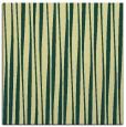 rug #243189 | square yellow stripes rug