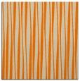 rug #243301   square orange stripes rug