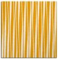 rug #243321 | square light-orange stripes rug
