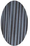 rug #243452   oval stripes rug