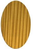 rug #243641 | oval light-orange popular rug