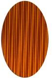 rug #243655   oval stripes rug