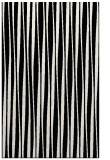 rug #243693 |  black stripes rug
