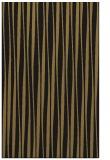 rug #243709    black stripes rug