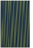 rug #243725    blue stripes rug