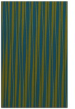 rug #243749 |  green stripes rug