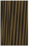 rug #243805    black stripes rug