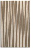 rug #243841 |  mid-brown stripes rug