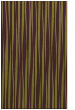 rug #243917 |  purple stripes rug