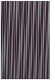 rug #243925 |  purple stripes rug