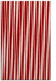 rug #243929    red stripes rug