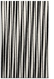 rug #243961 |  black stripes rug
