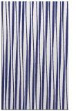 rug #243969 |  blue stripes rug