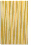 rug #243977 |  yellow stripes rug