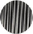 rug #244045 | round black stripes rug