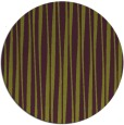 rug #244269 | round purple stripes rug