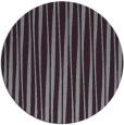 rug #244277 | round purple stripes rug