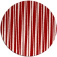 rug #244281 | round red stripes rug