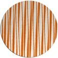 rug #244309 | round red-orange popular rug