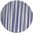 rug #244321 | round white stripes rug
