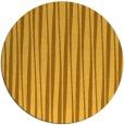 rug #244345 | round yellow stripes rug