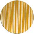 rug #244377 | round light-orange stripes rug
