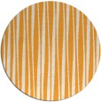 rug #244389 | round light-orange stripes rug
