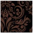 rug #244761   square brown damask rug