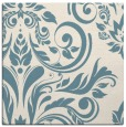 rug #244769 | square blue-green damask rug