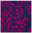 rug #244773 | square pink damask rug
