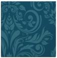rug #244793 | square blue-green damask rug