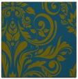rug #244805 | square green damask rug