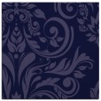 rug #244829 | square blue-violet damask rug