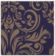 rug #244853 | square blue-violet damask rug