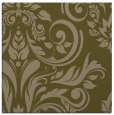 rug #244865 | square mid-brown damask rug
