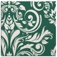 rug #244877 | square green damask rug