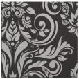 rug #244945 | square orange damask rug
