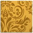 rug #245049 | square light-orange damask rug