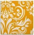rug #245081 | square light-orange damask rug