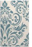 rug #245473 |  white damask rug
