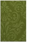 rug #245573 |  green damask rug