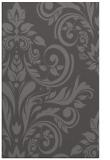 rug #245597 |  brown damask rug