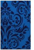 rug #245617 |  blue damask rug