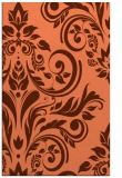 rug #245649 |  orange rug